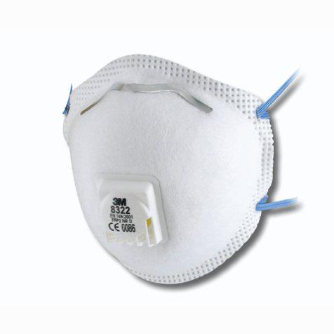 3m 8322 masque anti poussi res ffp2 nr d 10 pi ces. Black Bedroom Furniture Sets. Home Design Ideas